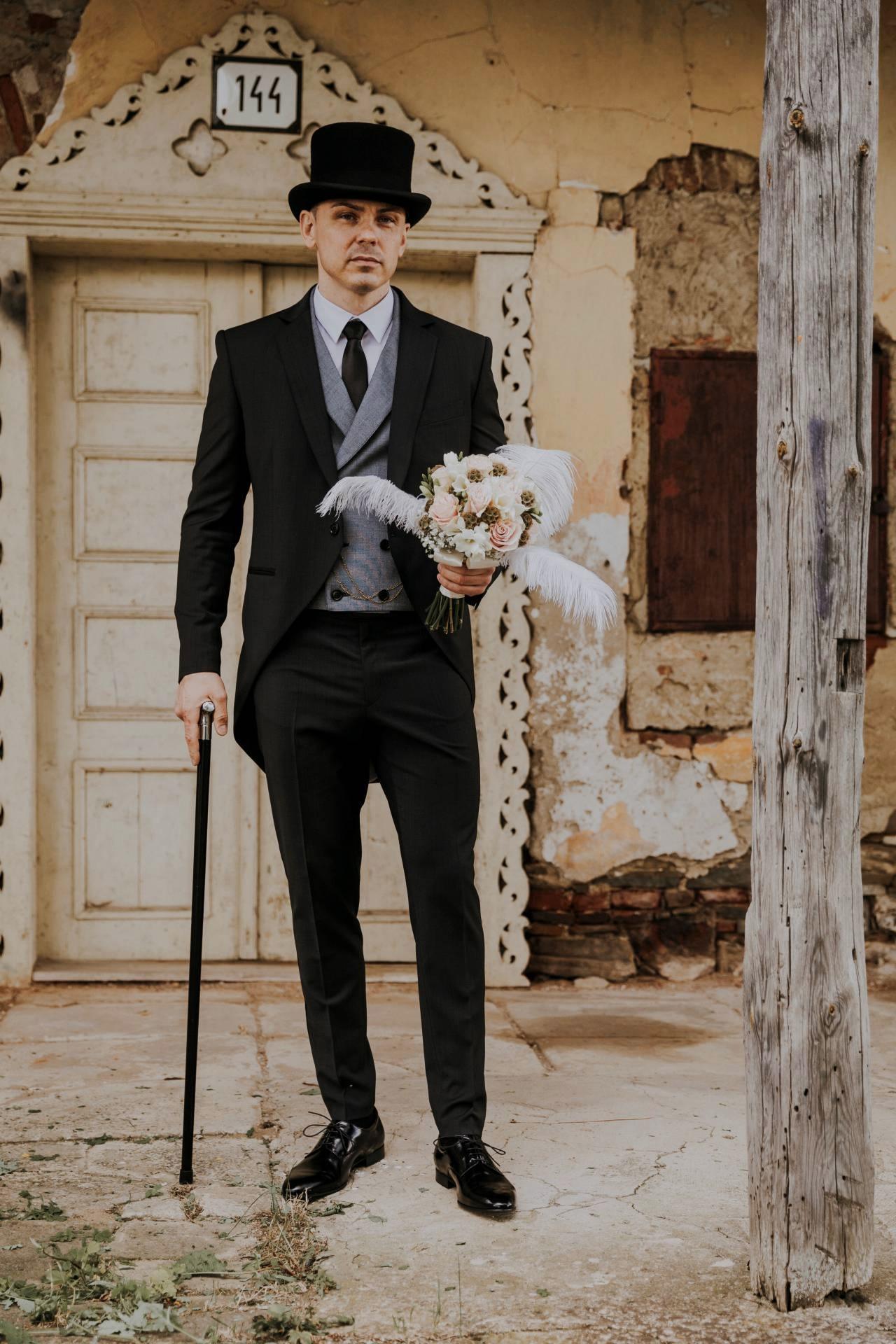 retro svadba