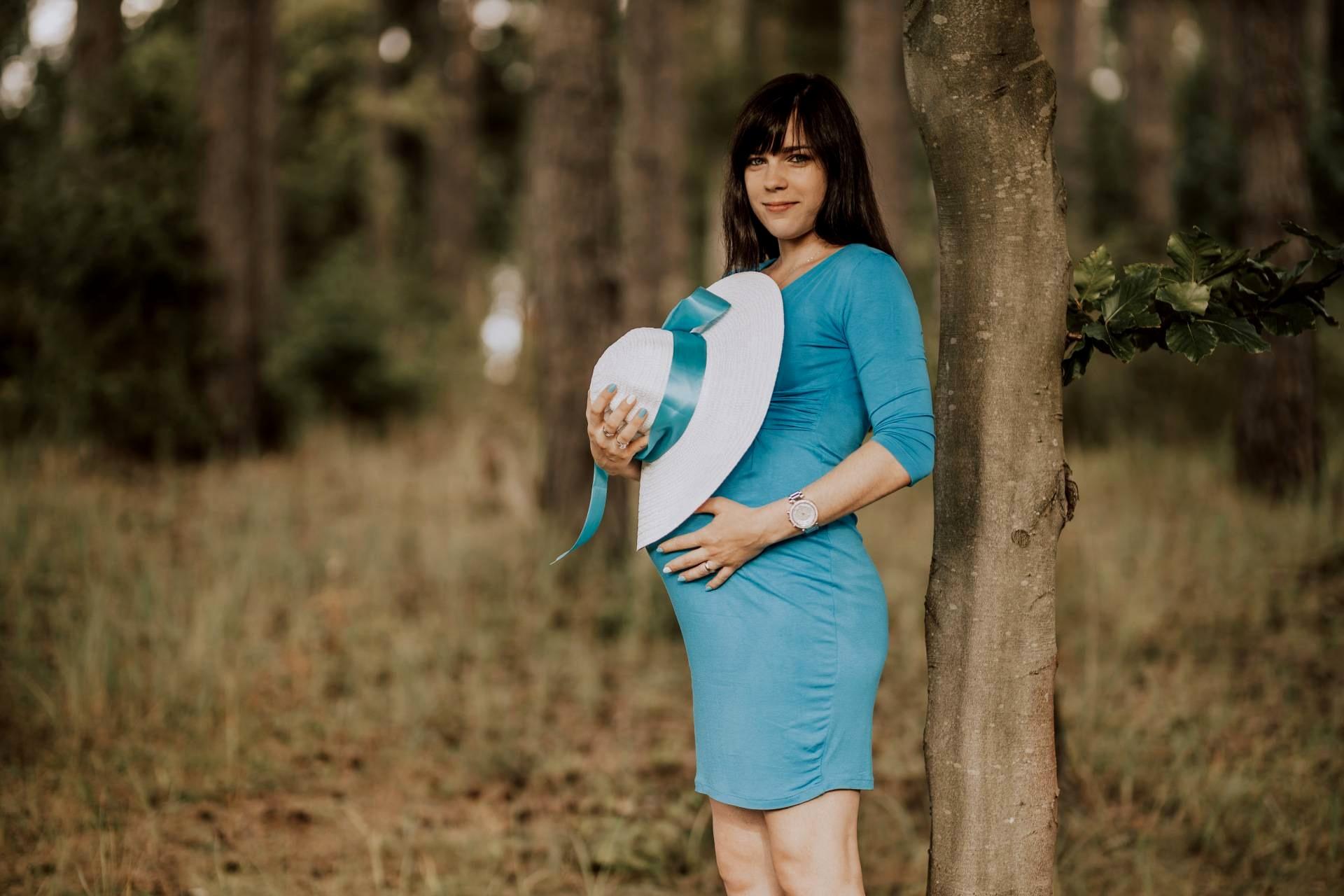 tehotenske foto formou rande